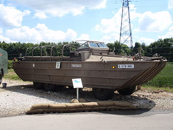 English: DUKW at the Eden Camp museum