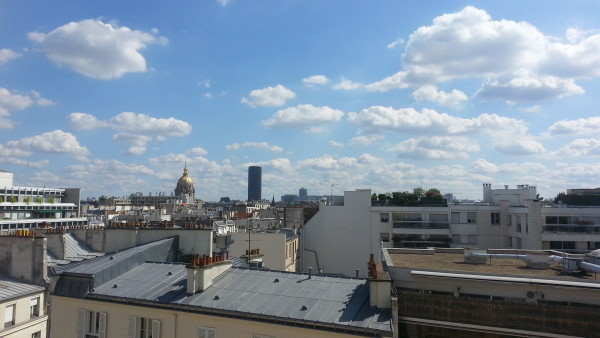 More of my airbnb experience, view the other way from the studio