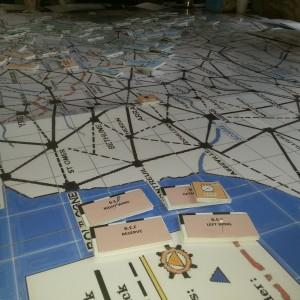 Megagame: Iron Dice – Turn 1