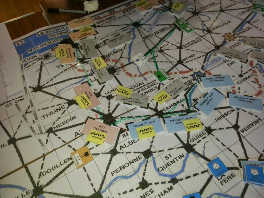 Megagame: Iron Dice – Turn 9