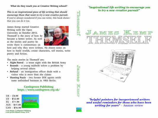 new cover for Themself by James Kemp, coming soon to book sellers near you