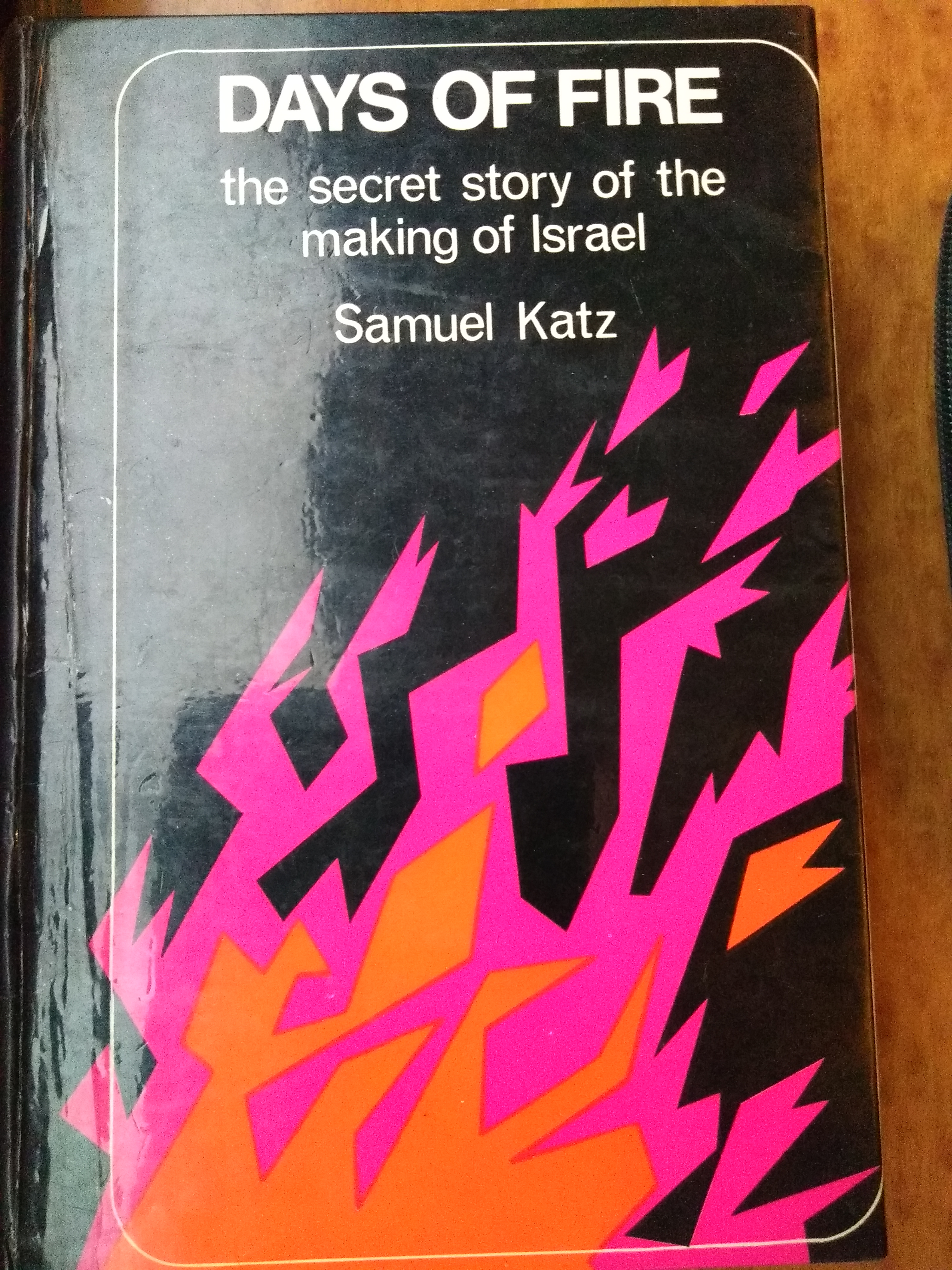 cover of Days of Fire by Samuel Katz