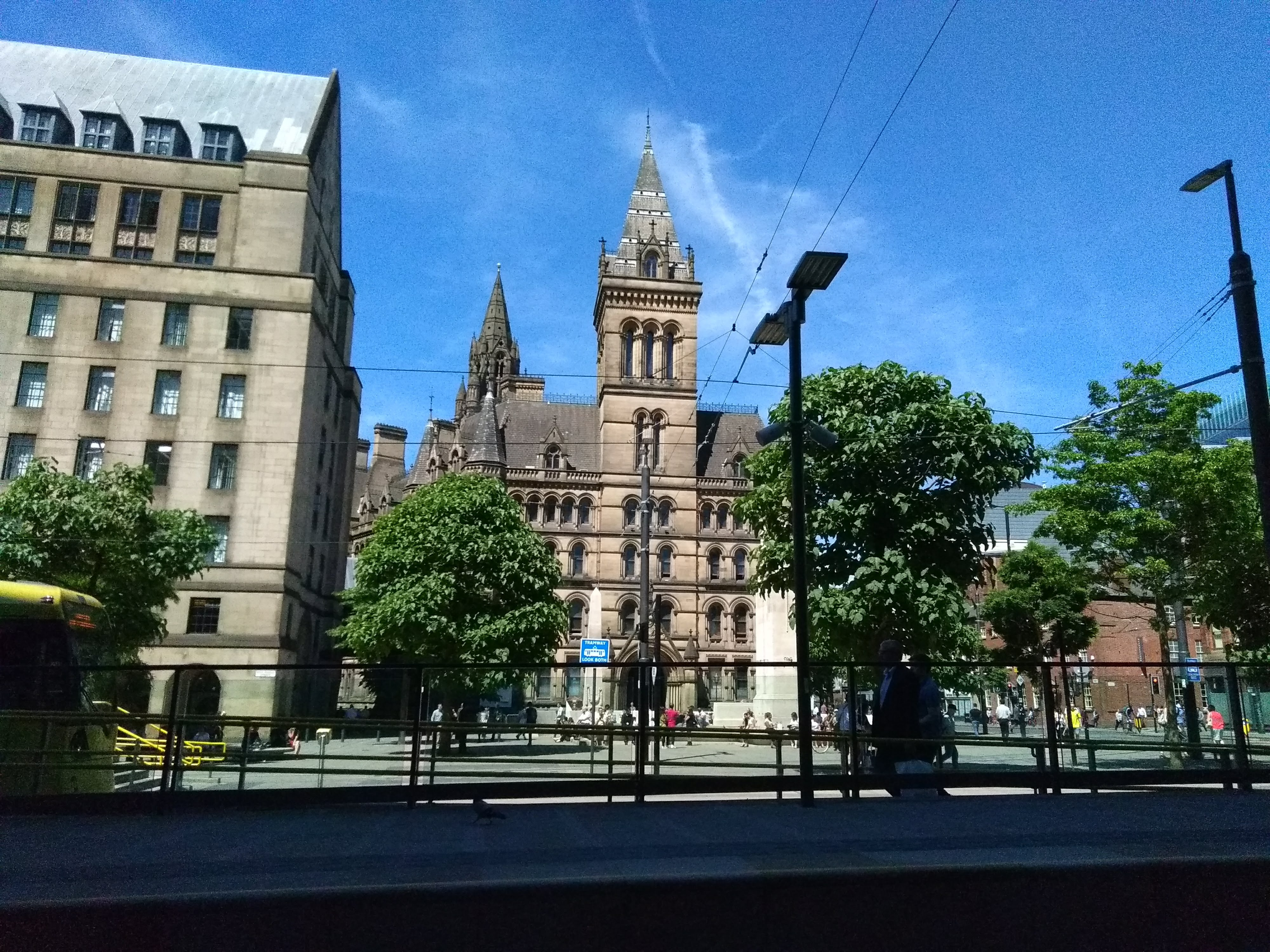 Manchester Town Hall, St Peter's Square. (photo: James Kemp)